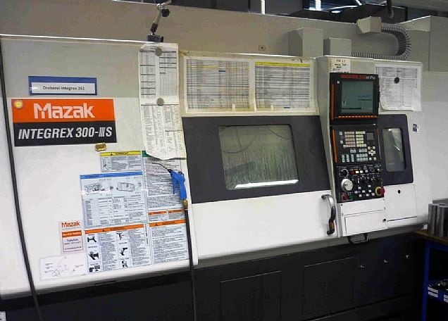 2005 Mazak Integrex 300 III S, used Turning Centres