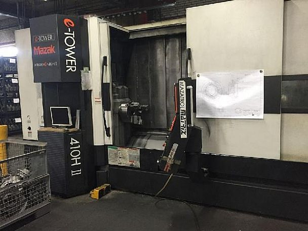 2007 Mazak Integrex e-410 H II x 3000, used Turning Centres