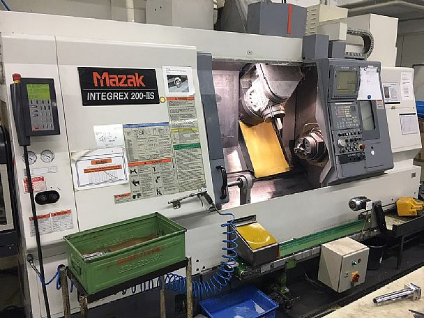 2003 Mazak Integrex 200 III S, used Turning Centres