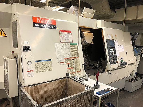 2002 Mazak Integrex 300 II Y, used Turning Centres