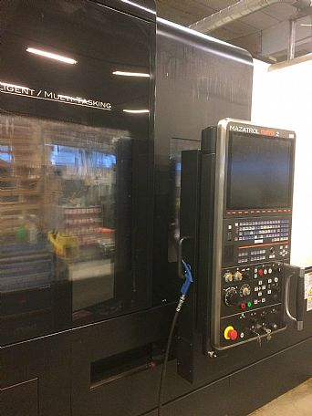 2013 Mazak Integrex i400, used Turning Centres