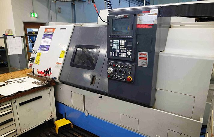 2002 Mazak SQT 250 M, used Turning Centres